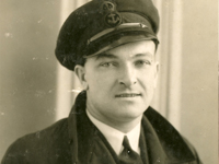 Joe Faill, 1913 to 1994. Son of Thomas Faill and Catherine McAndrew. Photo taken during WW2.