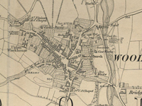 Map of Wooler Township c 1860