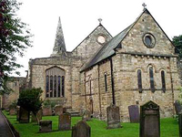 St Lawrence's Church, Workworth, Northumberland