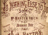Alfred Montem Smith Sheet Music